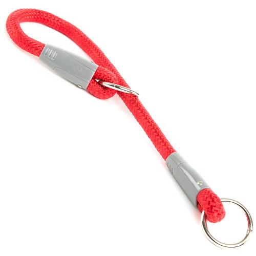 Coleira de nylon redonda para cães Vários modelos Cor Vermelho