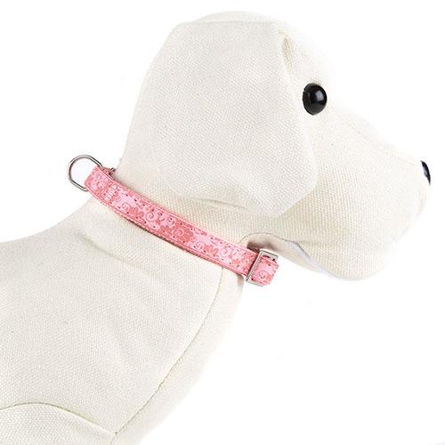 Coleira para cães Envy Flora Cor Rosa