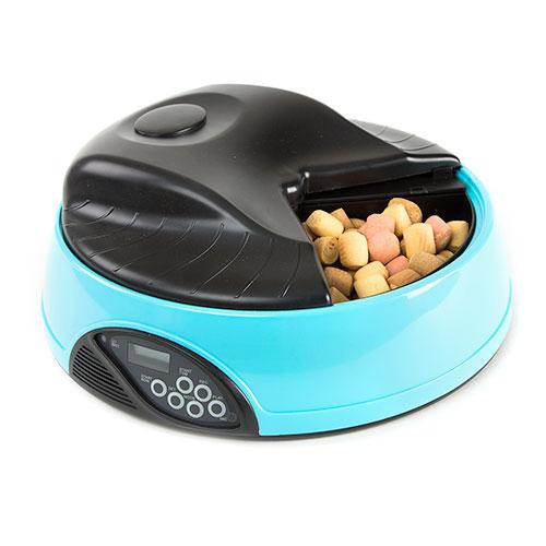 Comedouro automático para cães e gatos TK-Pet DeliDinner
