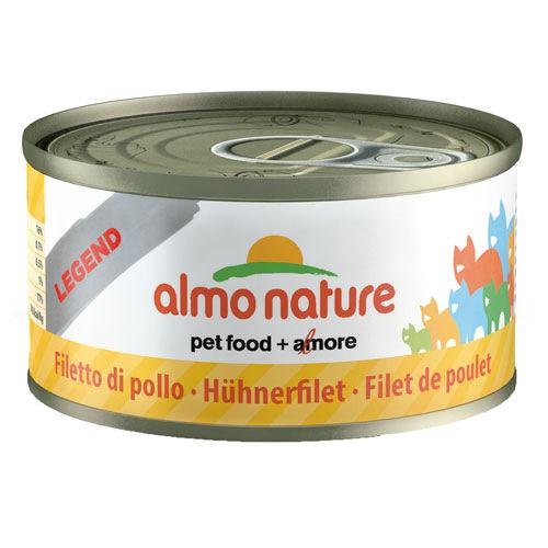 Comida húmida de bife de frango Almo Nature Legend