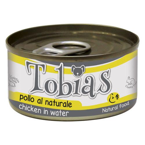 Comida húmida natural de frango Tobias cão
