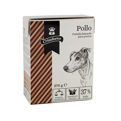 Comida húmida para cães Criadores com sabor a frango