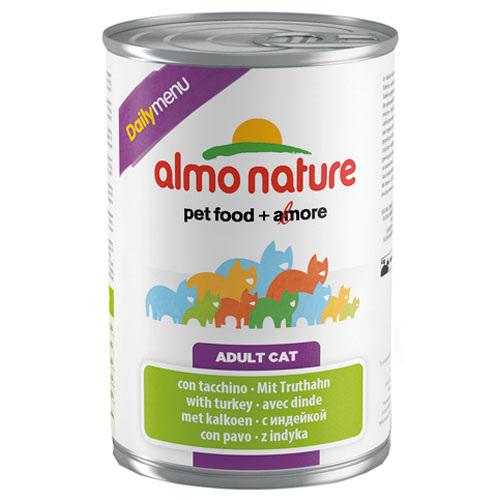 Comida húmida com peru Almo Nature Daily Menu