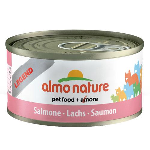 Comida húmida de salmão Almo Nature Legend