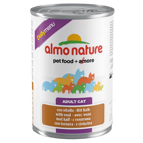 Comida húmida com vitela Almo Nature Daily Menu