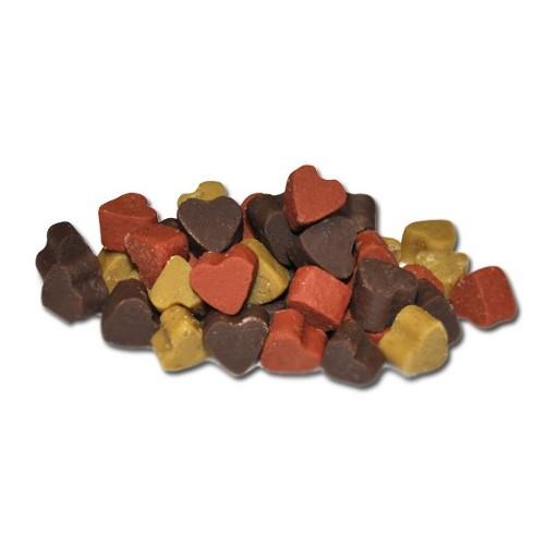 Criadores Snacks Húmidos Mini-corações para cães