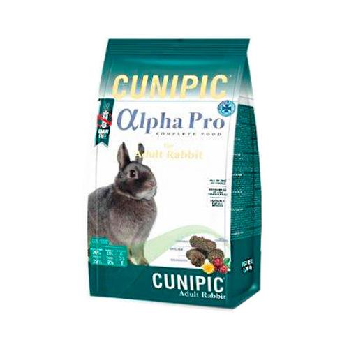 Cunipic Alpha Pro Adult ração para coelhos Grain Free
