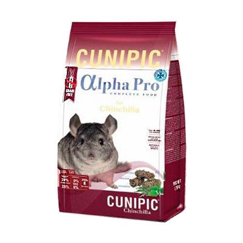 Cunipic Alpha Pro ração para chinchilas Grain Free