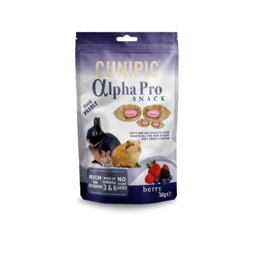 Cunipic Alpha Pro Snack Berry para roedores
