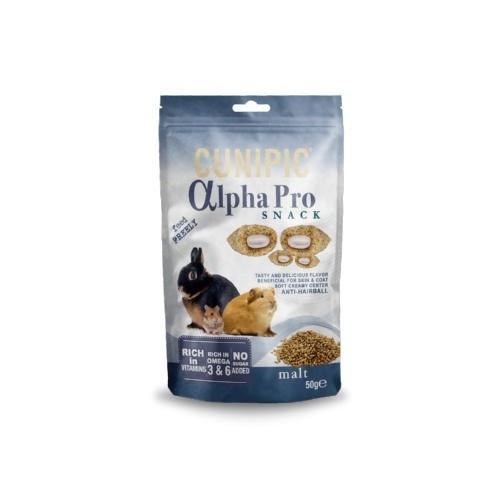 Cunipic Alpha Pro Snack Malte para roedores