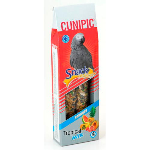Cunipic Snack deluxe Barritas de sementes para papagaios
