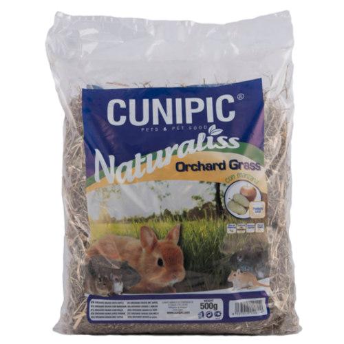 Cunipic Naturaliss Orchard Grass feno com maçã para roedores