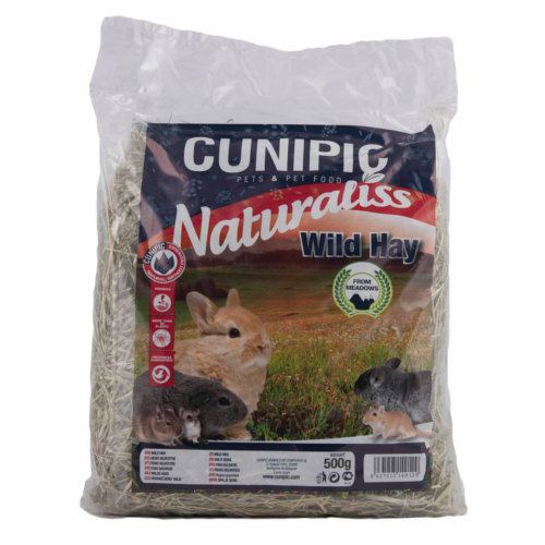 Cunipic Naturaliss Wild feno selvagem para roedores