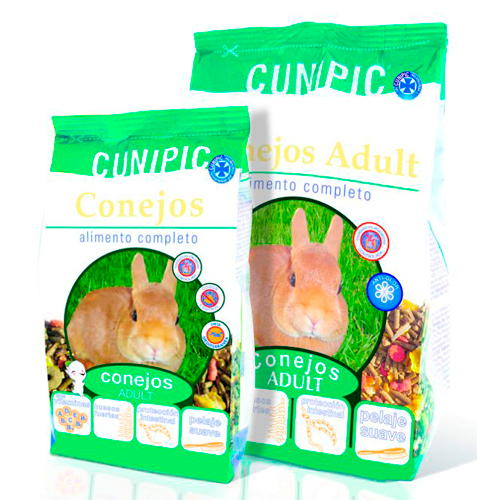 Cunipic Alimento completo para coelhos adultos