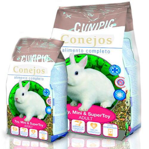 Cunipic Alimento completo para coelhos anões Adultos