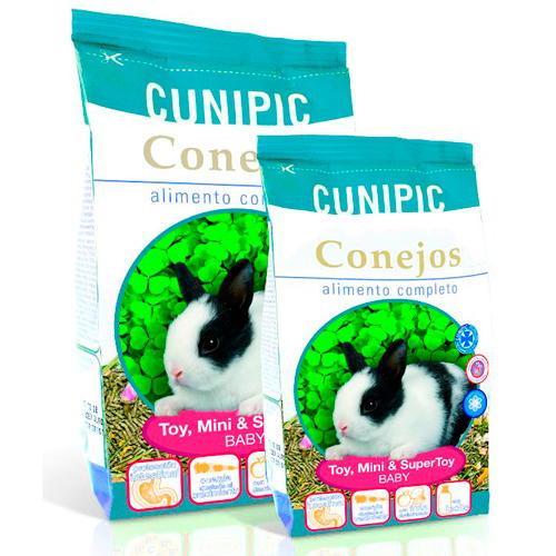 Cunipic Alimento completo para coelhos anões Baby