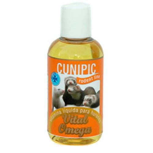 Cunipic Vital Omega Suplemento vitamínico para Furões