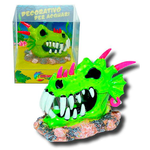Figura decorativa móvel Cabeça de dragão