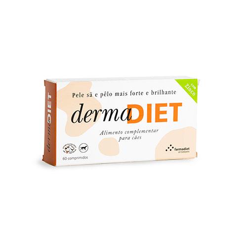 DermaDiet suplemento para uma pele sã nos cães
