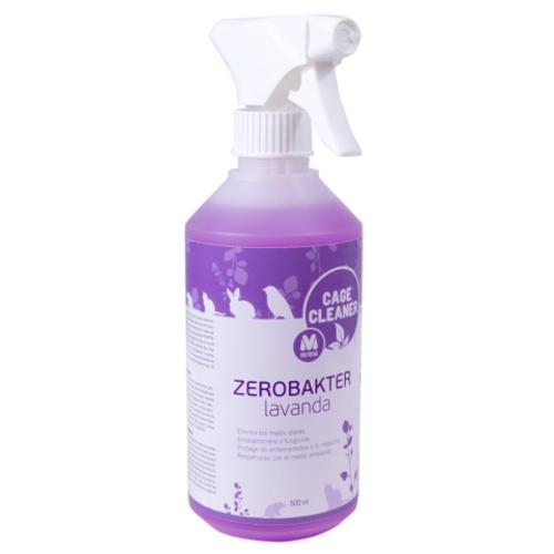 Desinfetante para jaulas e acessórios Zerobakter lavanda