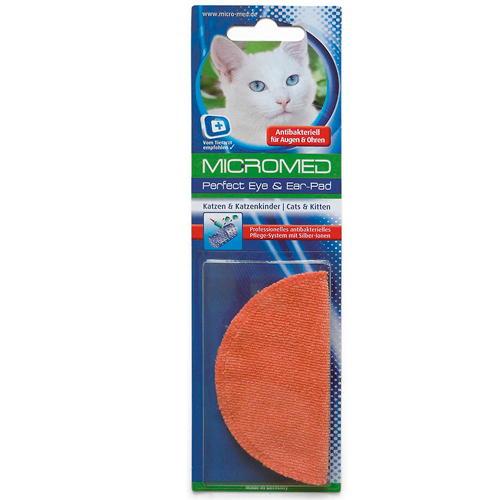 Disco para limpar os olhos e orelhas de gatos