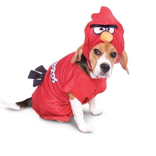 Angry Birds Vermelho Disfarce para cães