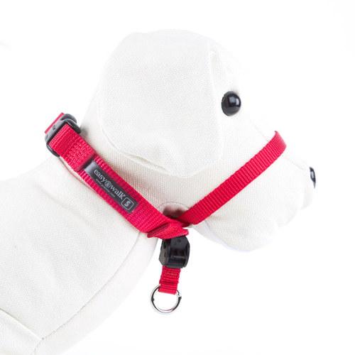 Easy walk coleira para segurar em cães com muita força de cor vermelha