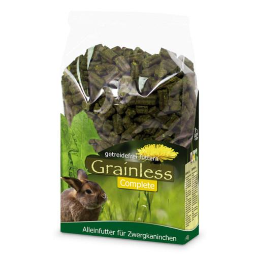 JR Farm Grainless Complete ervas prensadas para coelhos anões