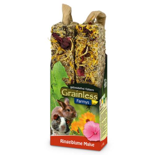 JR Farm Grainless Farmys barritas com calêndula para roedores e coelhos