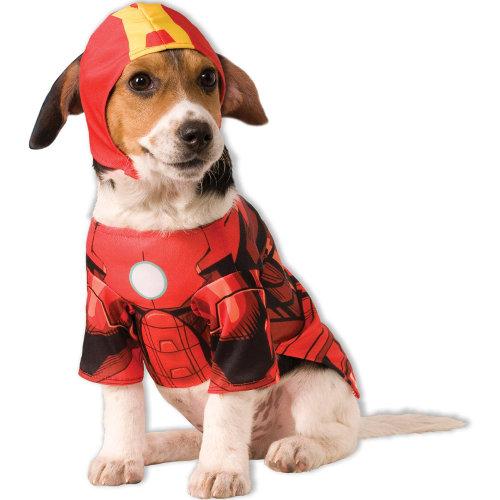 Fato Iron Man para cães