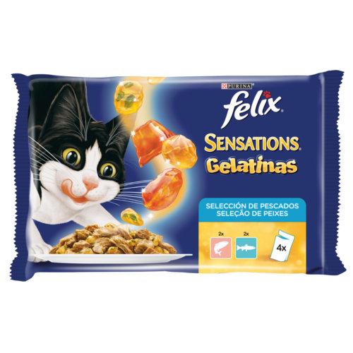Felix Sensations Gelatinas seleção de peixes