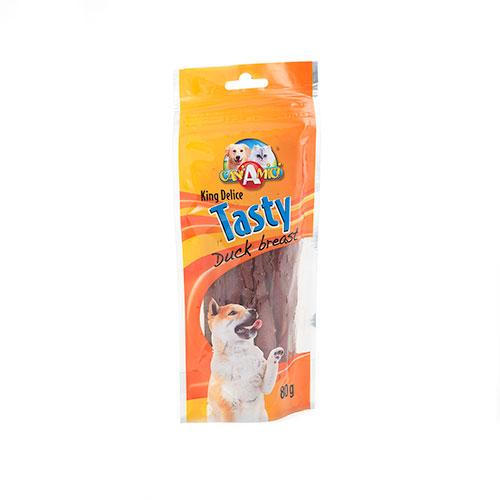 Peito de pato desidratado snack para cães
