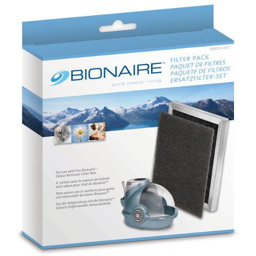 Filtro Bionaire para caixa de areia para gatos