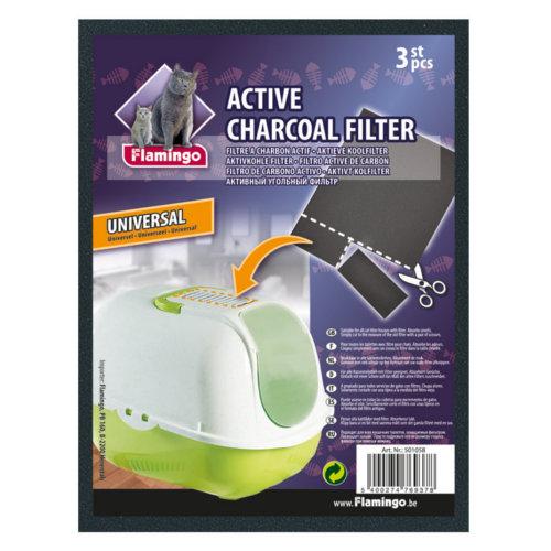 Filtro universal para a bandeja de caixa de areia