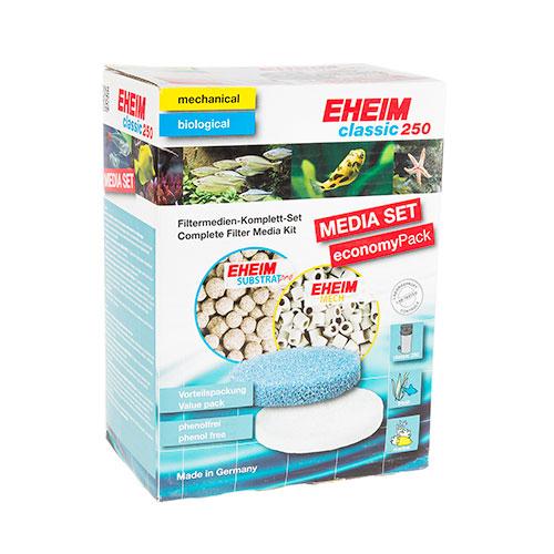 Set material filtrante de reposição para filtros Eheim Classic