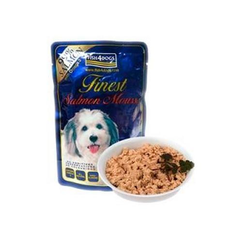 Fish4Dog Mousse de Salmão hipoalergénica para cães