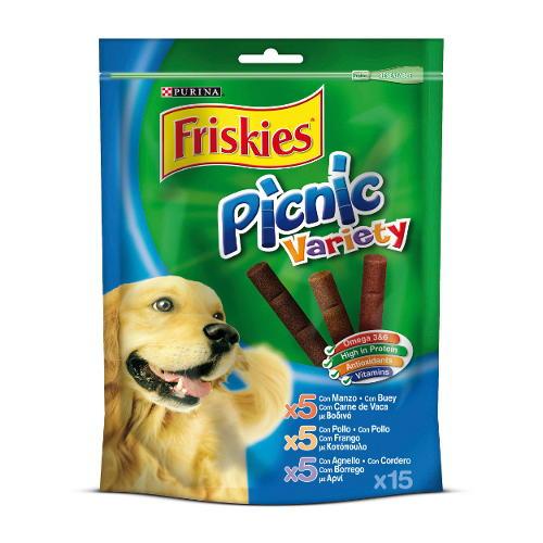 Friskies Picnic Variety Snack para cães