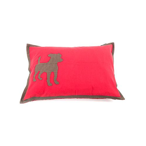 Funda de cama para cães Dog algodão cor encarnada