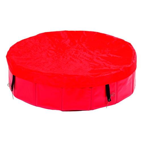 Capa protetora para piscina para cães dobrável