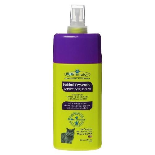 Spray Furminator Prevenção bolas de pêlo Gatos