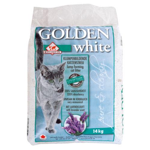 Golden White areia aglomerante com aroma a lavanda
