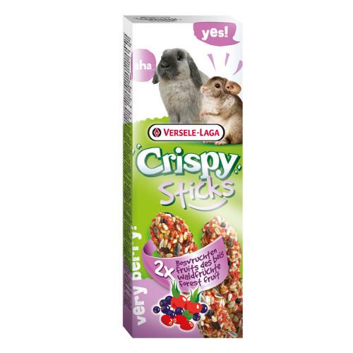 Snacks para coelhos e chinchilas Versele Laga Crispy Sticks frutas do bosque