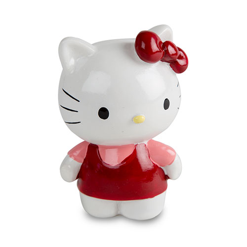 Hello Kitty Figura decorativa - Vários modelos Cor Vermelho