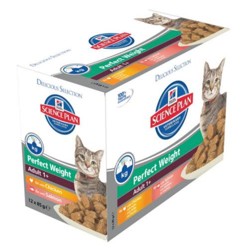 Hill´s Science Plan Perfect Weight Adult comida húmida para gatos
