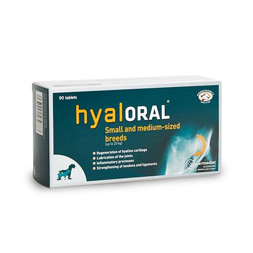 Condroprotector Hyaloral para Raças Pequenas e Medianas