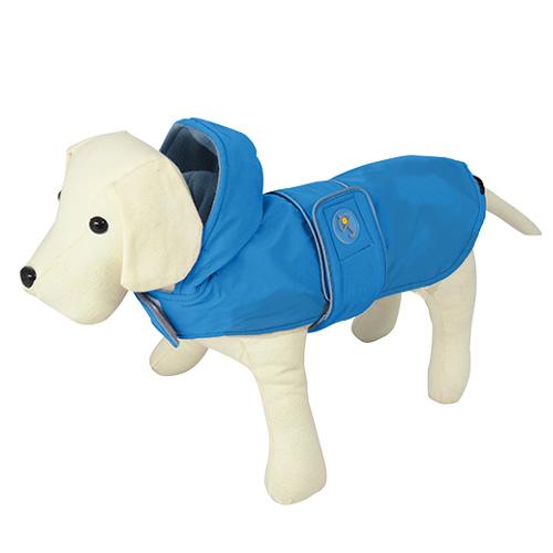 Impermeável para cães Dancing Rain azul