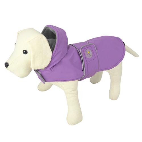 Impermeável para cães Dancing Rain lilás