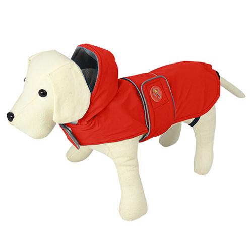 Impermeável para cães Dancing Rain vermelho
