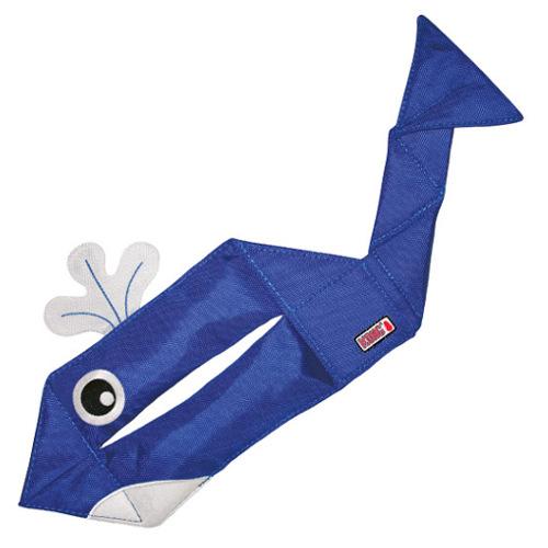 Isca divertida com formato de baleia KONG Ballistic Flatz