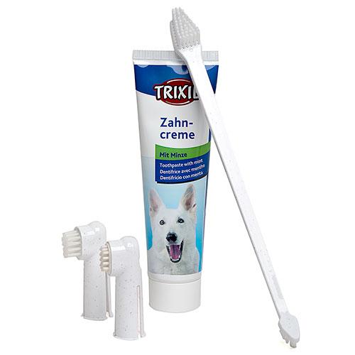 Set de Higiene Dental Completo para cães